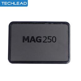 Wholesale Iptv Set Top - MAG250 Set Top Box Mag 250 Linux System Processor STi7105 RAM 256Mb IPTV Box Mag250 Multimedia Player WIFI TV Box DLAN