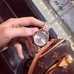 Wholesale Fashion Watches Moves - New model Stainless steel Rose gold Watch japan move quartz lady women wrist watch free shipping Famous vogue fashion wristwatch