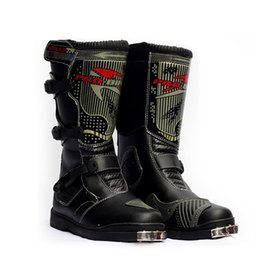 Wholesale Motocross Riding Boots - Motorcycle Boots Men Motocross Shoes Racing Speed boot Moto Botas Probiker Motorcycles Riding Shoes Motorcycl Boots B1007