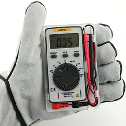 Wholesale Auto Range Meter - Pocket Digital Auto Range Multimeter Backlight AC DC Voltage Current Meter SA847