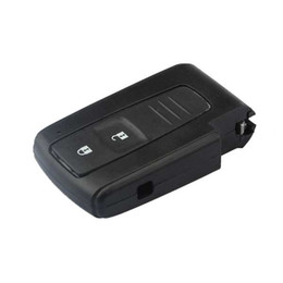 Wholesale car remote shell toyota - Guaranteed 100% 2 Buttons Car Smart Remote Key Keyless Entry Case Shell for Toyota Prius Fob Free Shipping