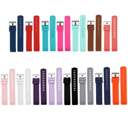 Wholesale Silicone Watches Design - Silicone Band for Fitbit Charge 2, Watch Band Design Replacement Bands, 15 Colors, Small and Large Available