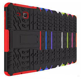 Wholesale Waterproof Impact Case Wholesale - FOR Samsung Galaxy Tab E T560 A 10.1 T580 9.7 T550 Tab S2 T810 Dazzle Hybrid KickStand Impact Rugged Heavy Duty TPU+PC Cover Case 1PC LOT