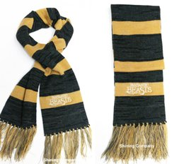 Wholesale Beast Man - DHL FREE Scarves Fantastic Beasts and Where To Find Them Newt Scarf Scarves Harry Potter Sequel for Men Women Tassel Scarves Christmas Gift