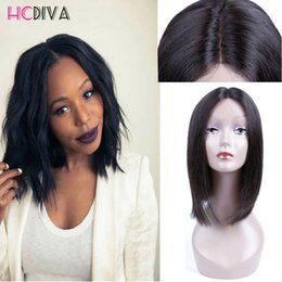 Wholesale Human Hair Short Wig Wave - 8A Grade Short Human Hair Wigs for Black Woman Brazilian Human Hair Wet and Wavy Natural Wavy Human Hair Wigs for Back Women Loose Wave