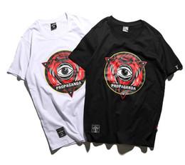 Wholesale Triangle Skateboard - Hot Sale men T-Shirt Crew Neck Short Sleeve women Summer Cotton Tees White Black Skateboards Sport Shirt Women Triangle Print Tee