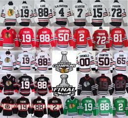 Wholesale Army 4xl - Chicago Blackhawks Jersey Hockey 2 Duncan Keith 19 Jonathan Toews 50 Corey Crawford 72 Artemi Panarin 88 Patrick Kane Clark Griswold Hossa