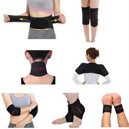 Wholesale Magnetic Belt Knee - Magnetic Tourmaline Belt Self-heating knee pad neck shoulder pad ankle support elbow Support tourmaline