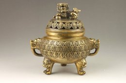 Wholesale Chinese Incense Burner Dragon - Chinese Handmade Exquisite Auspicious Dragon Bronze Incense Burner