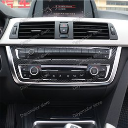 Wholesale Car Decoration Trim - Car Styling ABS Seat belt Cover Decoration Trim Accessories For BMW 3 5 Series F30 F31 F32 F34 GT chrome Stick