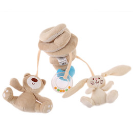 Wholesale Infant Lathe Hanging Toys - Wholesale- Infant Toys Baby crib revolves around the bed stroller playing toy crib lathe hanging baby's Rattles Toys