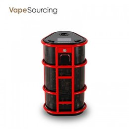 Wholesale High Rate Battery - Original Wismec ES300 EXO SKELETON Vape Mod Powered by High-rate 18650 Battery Wismec EXO SKELETON ES300 Mod 200W 300W TC Box Mod