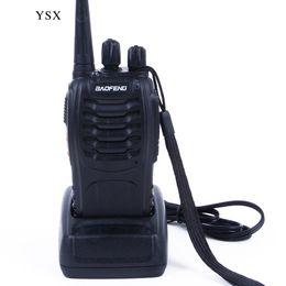 Wholesale Ham Radio Set Two Way - Baofeng Walkie Talkie BF-888S 5W UHF 400-470MHZ Handheld Portable CB Ham Radio walkie talkie Set communication equipment
