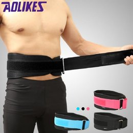 weightlifting belts Promo Codes - Wholesale-Sports Waist Support Weightlifting Belt Fitness Gym Back Brace Support Belt Bodybuilding Home Gym Fitness Training Equipment