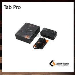 Wholesale Ohms Meters - Geekvape Tab Pro Ohm Meter Reader 90° Rotatable Connector 521 Tab Pro Kit Usable as a Temporary Mod to Test Builds 100% Original