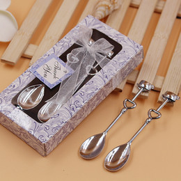 Wholesale Love Deeper - Tableware Suit Sweet Love Creative Fashion Multi Function Coffee Spoon High Grade Gift For Wedding Valentines Day 2 5lw J R
