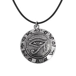 Wholesale pharaoh chain - European and American games, the eye necklace of the Egyptian eagle head, the pharaoh horus, is a mysterious and creative gift