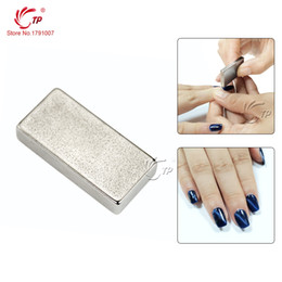 Wholesale Nail Polish Stickers Strips - Wholesale-Nail Art Beauty Strong Magnetism One Strip Magical Magnet Sticker For Cat Eye UV Gel Polish Nail Art Manicure Tool 3D Effect