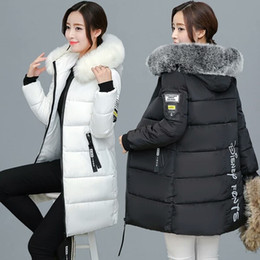 Wholesale Korean Fur Hooded Jacket - The new winter coat, long fur coat cotton padded jacket female Korean thickened down student loved