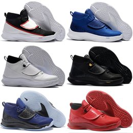Wholesale Super Fly Basketball Shoes - 2017 New Arrival Blake Griffin Elite SUPER FLY 5 Playoffs Basketball Shoes for Top quality Airs Cushion Training Sports Sneakers Size 7-12