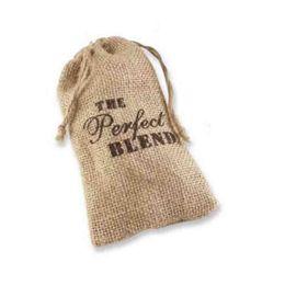 "Wholesale Lace Favor Bags - ""THE Perfect BLEND"" Printed 9.5x14.5cm Burlap favor bags rustic wedding favor bag (3x5inch) burlap lace favor bag Gift bag 100p"