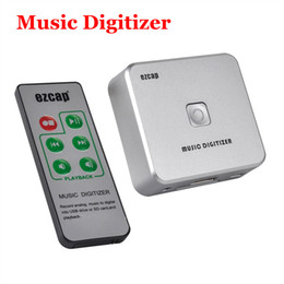 Wholesale Music Usb Capture - Audio Capture Recorder Converter Music Digitizer with 3.5mm RCA IN Save into SD Card USB Disk with Remote Controller no computer required