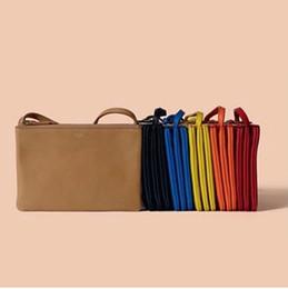 Wholesale White Envelope Purse - new fashion women famous handbags message tote shoulder bags purse three pieces trio PU leather summer corss bag