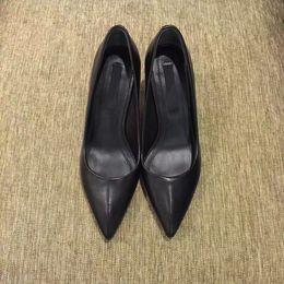 Wholesale Women Wearing Fur Heels - Original ladies shoes luxury wear italia import cowskin sheepskin inside import jenuine tread cool black fasion women best love size 35-39