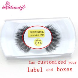 Wholesale Eyelash Extension Single - 1Pair Natural Makeup 3d Mink Lashes False Eyelashes Single Case Eyelash Extension Make Up real siberian mink strip eyelashes