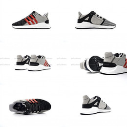 Wholesale Outdoor Coat Fabric - Overkill x Consortium EQT ADV 93 17 ultra Boost Support Future black white pink Coat of Arms Pack Mens women Running sports Sneaker