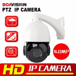 Wholesale Dome Security Camera Zoom - 4 inch HD 4.0MP Mini PTZ IP Camera Security Outdoor Night Vision Network Speed Dome 30x Optical Zoom CCTV PTZ IP Camera