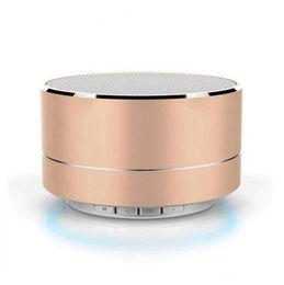 telefonlautsprecher pille Rabatt USB Bluetooth Lautsprecher Mini Metall Lautsprecher Tragbares Handy USB Lautsprecher Geschenk MP3 Subwoofer Computer Blue Tooth Music A10 Outdoor Pille