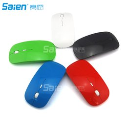 Wholesale Nano Computers - Wireless Mouse 2.4G Rechargeable Mice with Nano Receiver, 5 Buttons for Notebook, PC, Laptop, Computer, Macbook