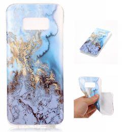 Wholesale Wholesale Stone Edging - Marble Stone Fashion skin case Soft TPU IMD Gel back cover For Samsung Galaxy S8 EDGE S7 S6 J3 J310 2016 J710 J7 A3 A5 2017 50PCS 100PCS
