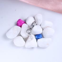 Wholesale Nipple Charms - Brand Baby Nipple Charm bead Fit sterling silver pandora bracelets 791890CZ