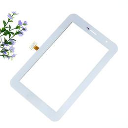 Wholesale Galaxy Tab Plus - 50Pcs Best quality Touch Screen Glass Panel with digitizer Replacement for Samsung Galaxy Tab 7.0 Plus P6200 Free Shipping via DHL