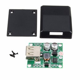 Wholesale Solar 18v - Freeshipping High Conversion Efficient USB Junction Box Solar Panel Micro USB Voltage Controller Converter Regulator for Charger 5V-18V to 2