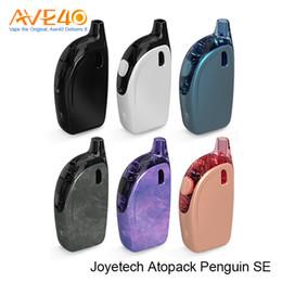 Wholesale Pink Penguin - Joyetech Penguin SE Kit Updated Joyetech Atopack Penguin Starter Kits Ego Aio Box 2000mAh with 8.8ml   2.0ml Capacity 100% Original