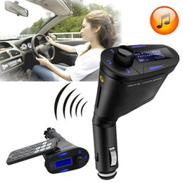 Wholesale usb car player - Car MP3 Player Wireless FM Transmitter With USB SD MMC Slot 1PCS H157