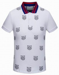 Wholesale Vintage Boys Shorts - 2016 Brand Mens Casual Shirt Boys Luxury Designer Sumerm Classic Cotton Shirts Vintage Sports Shirt Tops Tees Leisure Polo T-Shirt M-XXL