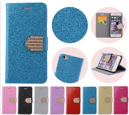 Wholesale Galaxy S3 Bling Wallet Case - For Iphone 7 Case Galaxy S3 i9300 Luxury Wallet Diamond Case Bling Bling style Case with Crystal PU Leather Card Slot
