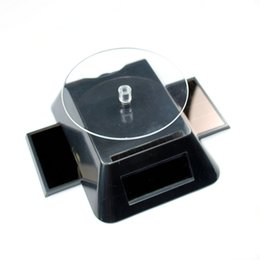 Wholesale Display Turntable Solar - Solar Energy Product Solar Rotating Display Stand (Turntable) with LCD Display Hot promotion Solar Gift item 036-00