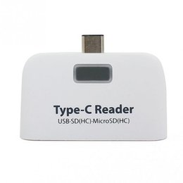 Wholesale Sd Adapter For Macbook - USB 3.1 Type C USB-C to Micro SD SDXC TF OTG Card Reader Adapter For Macbook & Cell Phone Card Readers