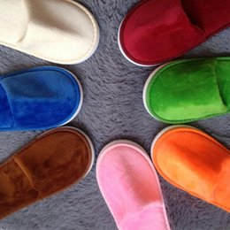 Wholesale Cheap Baby Slippers - baby kids Slippers 2017 wholesale Hot sale cheap 2016 High qulity not Disposable Slippers White Hotel Babouche Travel Guesthouse 2095