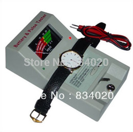 Wholesale Free Battery Testing - Wholesale- FREE SHIPPING WATCH BATTERY TESTER AND ANALYZER   COIL TEST TOOL