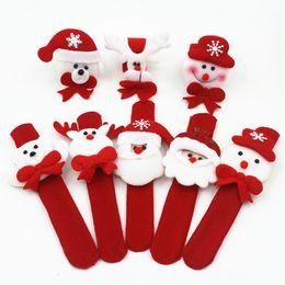 2019 círculos de ropa Nueva decoración de Navidad Hallowmas Clap Pulsera Cloth Clap Circle Kid Brian Circle Niños Regalos de Navidad B0885 círculos de ropa baratos