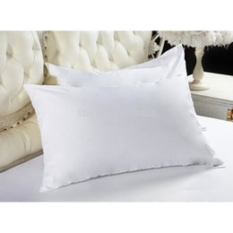 Wholesale Wholesale Pillow Protectors - Size 50x70cm One Pair Tencel Waterproof Allerzip Pillow Protector Pillowcase For Bed Bug and Bed Wetting