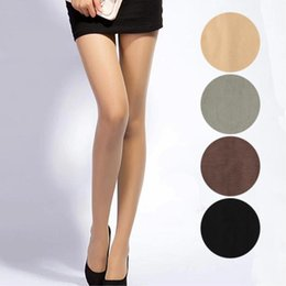 Wholesale Girls Tights Pantyhose Sale - Wholesale- sale+49%off+free shipping 1 Pair NEW Beauty 4 Colors Opaque Footed Tights Sexy Pantyhose Leg Warmers for Women Lady Girl