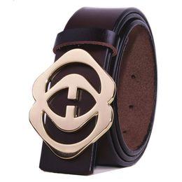 Wholesale Fancy Jeans - 2017 designer belts cowhide genuine leather belts for men's luxury brand Strap male fancy vintage jeans cintos dropshipping freeshippin