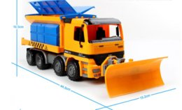 Wholesale Trucks Toys For Kids - Snow sweeper the toy truck simulation model for the children's toy inertia truck new kids toy